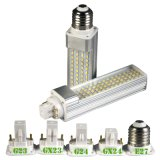 Factory Price 11W G24 2pin LED PLC Plug Lighting, G24 4pin PLC LED Lamp, E27 LED PLC Bulb