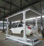 2 Level Invisible Parking Car Lift