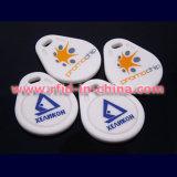 Smart RFID Key Fobs with Logo Printed