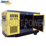 5kw Air Cooled Diesel Generator Set with 8 Hour Continuous Running Time