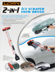 2-in-1 Ice Scraper & Snow Brush (CT05101P001)