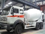 China Construction Machinery Beiben Cement Concrete Mixer Truck for Sale