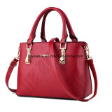 Women PU Fashion Evening Leather Hand Bag Designer Lady Handbag (FTE-047)