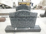 Hungary Tombstone European Style Engraving Granite Grave Monument for Cemetery
