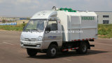 5 Cubic Meters Hydraulic Lifter Small/Mini Garbage Collector Truck
