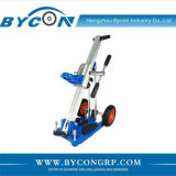VKP-250 600mm travel length mobile core drill rigs / stand