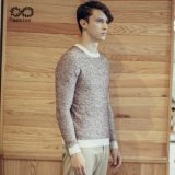 ODM Fashion Clothing Pure Colour Man Sweater Pullover