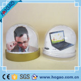 Office Desktop Decoration Plastic Photo Snow Globe