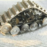 Small Rubber Tracks System (100mm wide) with Good Price
