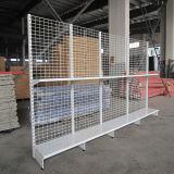 Metal Supermarket Wire Display Gondola Shelving