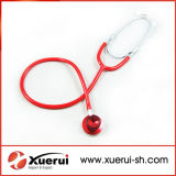 Dual Head Medical Stethoscope with Color Tube