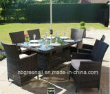 Patio Outdoor Rattan Garden Furniture Chair Table Set