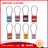 OEM Steel Wire Safety Padlock with Alarm