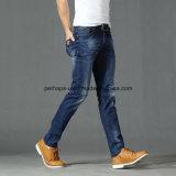 Wholesale Summer Men Long Pants Csutom Straight Stretch Jeans