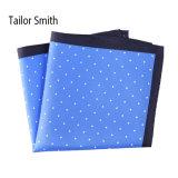 Fashionable Silk Polyester Dots Printed Pocket Square Hanky Handkerchief (SH59A)
