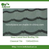 Colorful Stone Chips Coated Metal Roofing Tile (Classical)