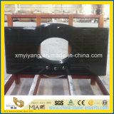 High Polished Shanxi Black Granite Vanity Top for Bathroom