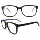 New Designed Eyewear Rectangular Frames Acetate Eyewear