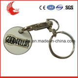 Zinc Alloy Double Sided Engraving Logo Cheap Custom Token Coins