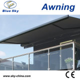 Popular Luxury Motorized Polyester Retractable Awning B4100