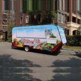 Enclosed Mobile Kitchen Ice Cream Food Cart