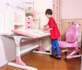Contemporary Wood Ergonomic Study Furniture Table for Children