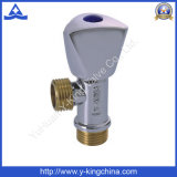 Forged Brass Plumbing Angle Valve with Factory Price (YD-5001)