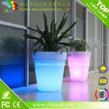 LED Flower Pot Garden Planter