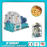 CE ISO SGS 6t/H Soybean Hammer Mill for Raw Material