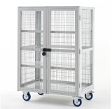 Heavy Duty Mobile Storage Security Cages (Factory)