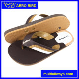 2016 Hot Strap Design PE African Slippers for Man (T038-Brown)