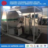 10m3 LPG Filling Plant 5tons LPG Gas Station 10000 Liters LPG Skid Station