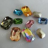 Machine Cut Point Back Loose Crystal Beads for Jewelry Accessory
