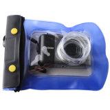 100% Sealed Zipper Lock Waterproof Case for Digital Camera (YKY7212)