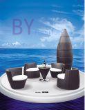 5 PCS Luxury Outdoor Patio PE Rattan Furniture Set