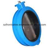 U Type Flanged End Ductile Iron Butterfly Valve