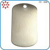Customized Brushed Steel Dog Tags for Men