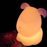 Doggy Color Change Recharage Table Mood Lamp