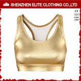 Youth Fitness PU Leather Sports Bra Sex