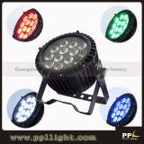 14X18W 6in1 Rgbaw+UV Outdoor Slim LED PAR 64 Can
