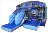 Frozen Theme Commercial Inflatable Bouncy Slide Combo CS108