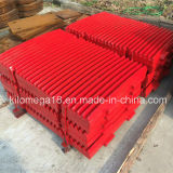 Hot Sale Fixed and Swing Jaw Plate for Jaw Crusher
