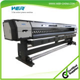 Eco Solvent Printer Price 3.2m with Two PCS Dx7 Printheads, Canvas Printing Machine