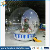 PVC Christmas Decoration Inflatable Crystal Ball for Advertising