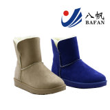 Women′s Classic Microfibe Fabric Upper Snow Boots Bf1610237