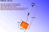 Ergonomic Plastic Snow Shovel with Steel Handle