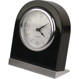 Black Desk Hotel Alarm Clock