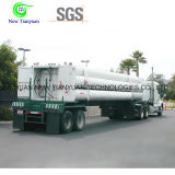 Hydrogen 9 Cylinder Tubes Semi Trailer with Competitive Price
