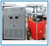 Step Down 11kv 2000kVA Three Phase Dry Type Transformer for Power Transmission