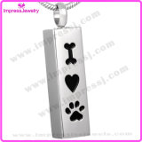 Cheap Pendant Urn Necklace for Pet Ashes Keepsake (IJD8001)